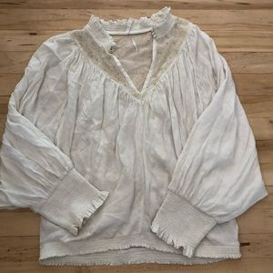 Lightweight peasant blouse